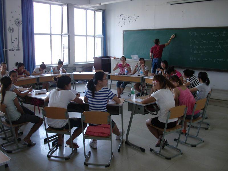 Ed's students