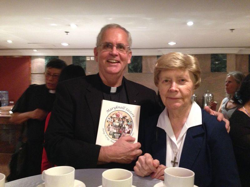 Brian and Sr.Betty Ann
