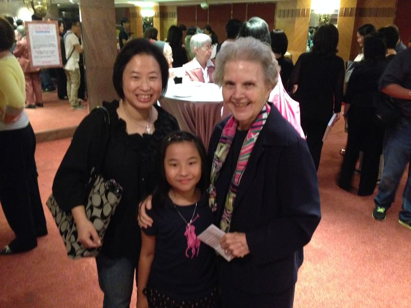 Sr. Jean and former student and her daughter