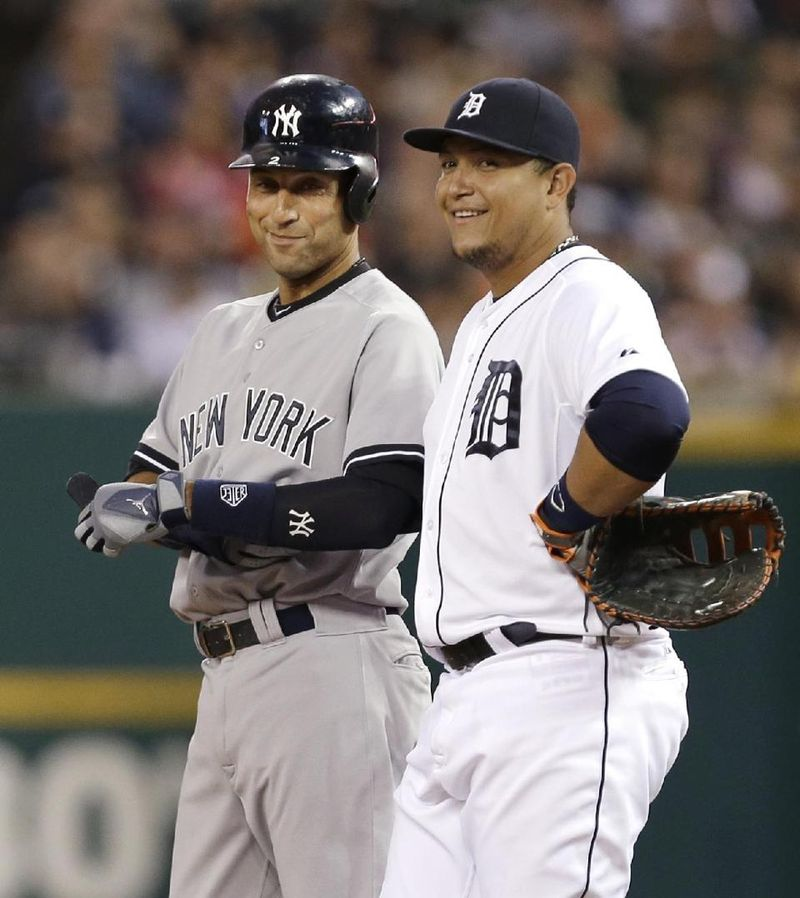 Jeter and miggy