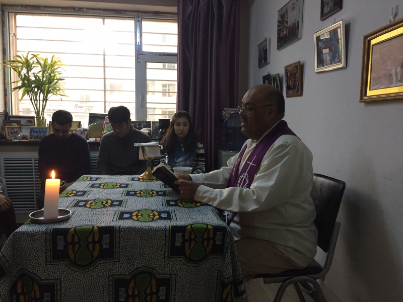 Mass with roberto 2