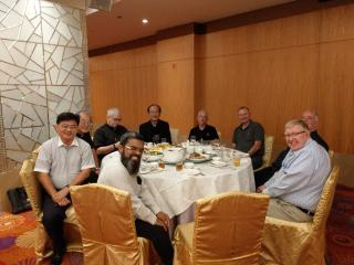 Banquet with Bishop Su