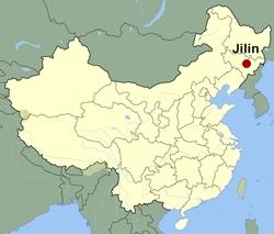 Jilin-map