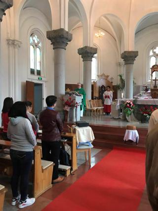 Mass at cathedral