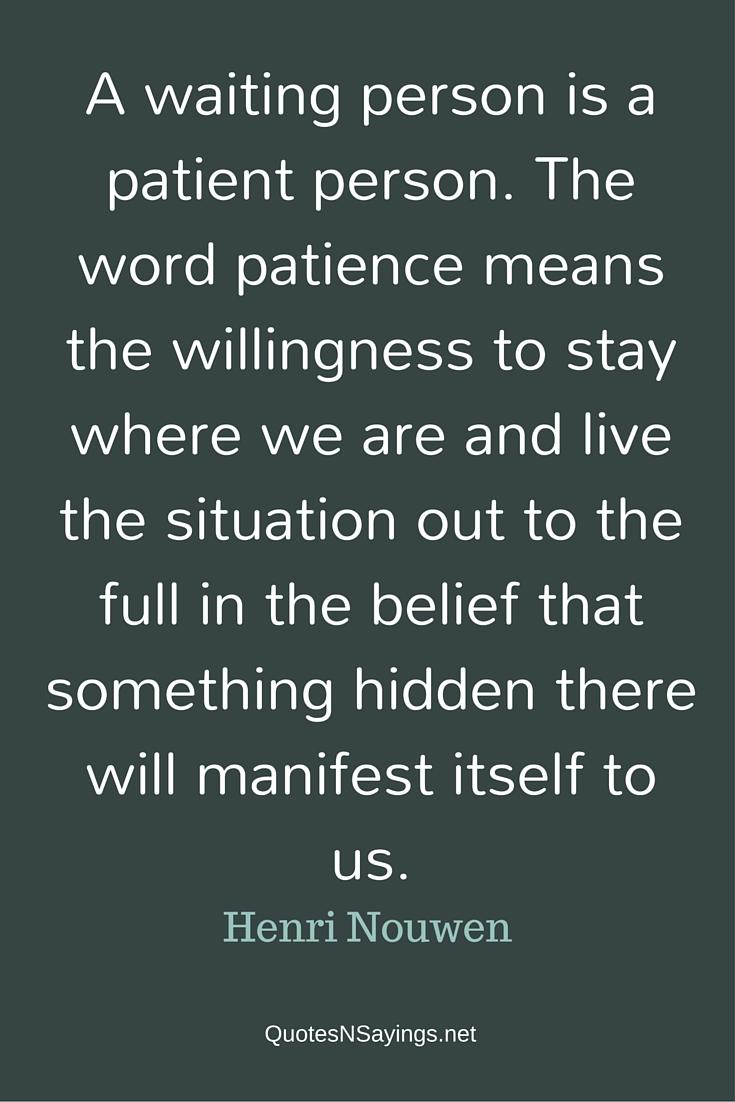 A-waiting-person-henri-nouwen-quote
